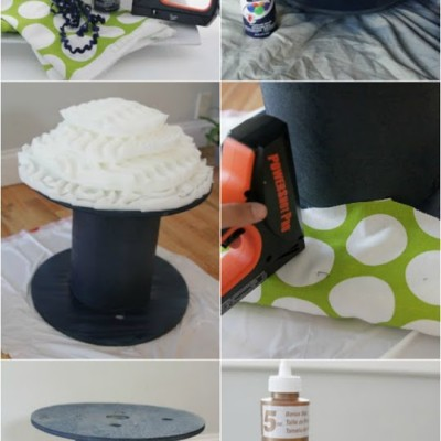 DIY: Electrical Spool Stools