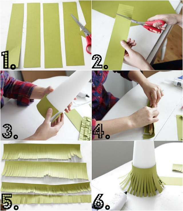 Diy Paper Christmas Trees Decor Fix