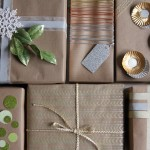 DIY Anthropologie Wrapping