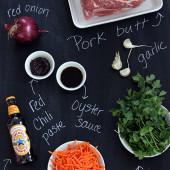 pork-snadwich-ingredients