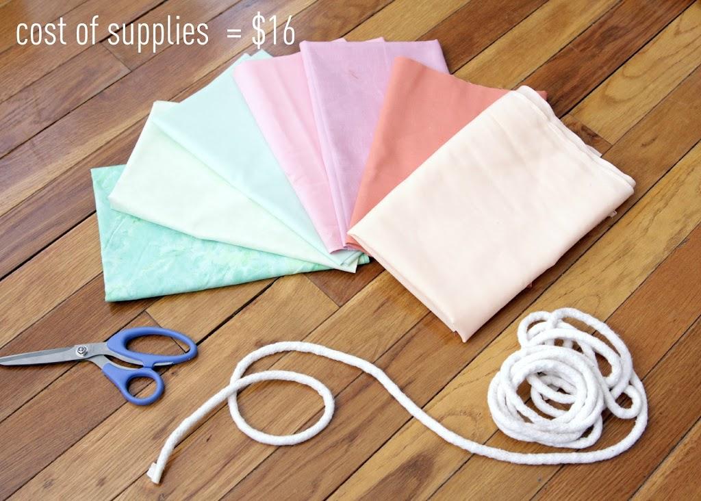 Make A Fabric Banner Decor Fix
