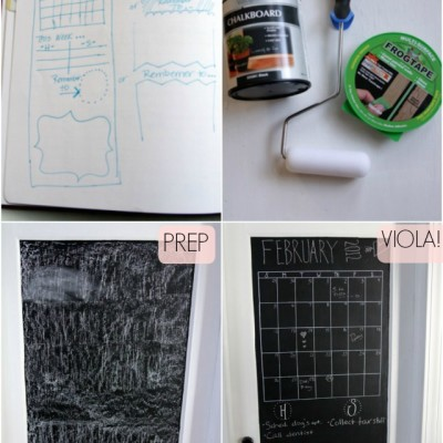 DIY: Chalk Paint Door