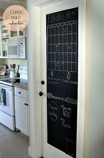 Diy Chalk Paint Door