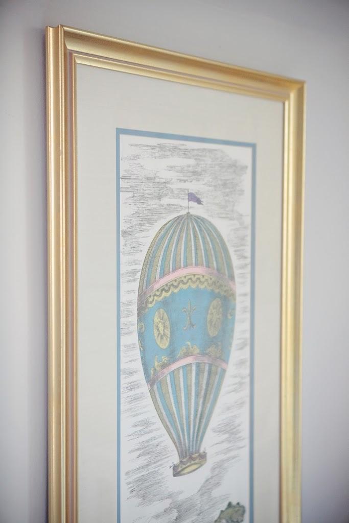 Olives Hot Air Balloon Nursery Decor Fix