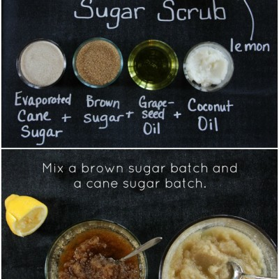 Home Spa: Lemon Bar Scrub