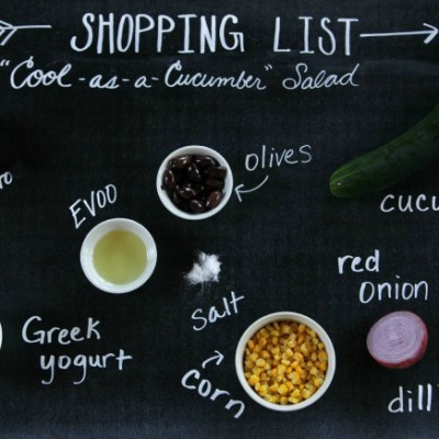 """Cool-as-a-Cucumber"" Salad"
