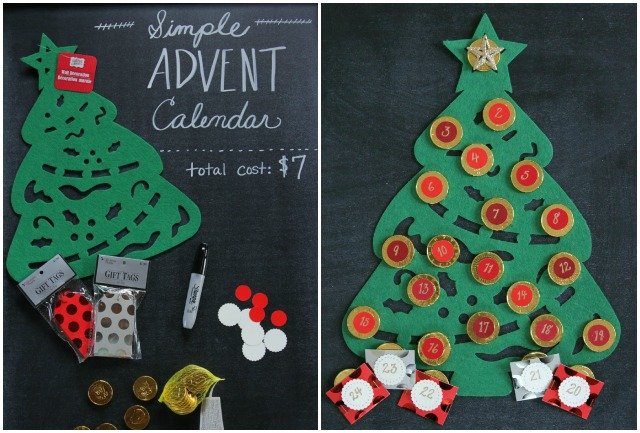 DIY Felt Advent Calendar - Decor Fix