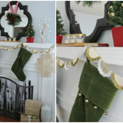DIY Golden Garland