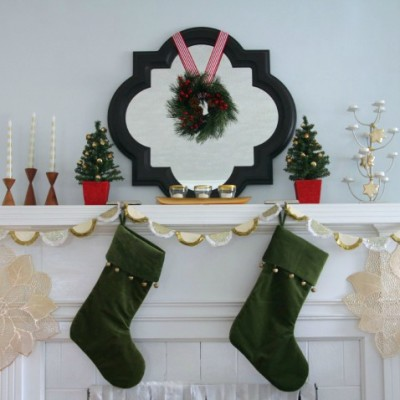 Thrifty Gold Mantel