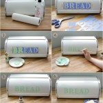 Painted Bread Box