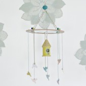 Bird House Mobile