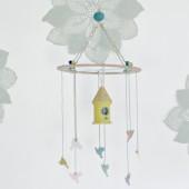 Bird House Mobile