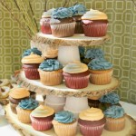 Woodsy Cupcake Stand