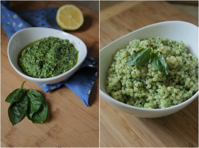 Salmon with Couscous and Pesto - Decor Fix