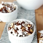 Sea Salt Chocolate Popcorn