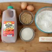 apple-cider-bread-ingredients