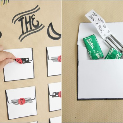 Envelope Advent Calendar