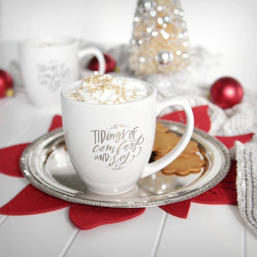 Gingerbread White Hot Chocolate - Decor Fix