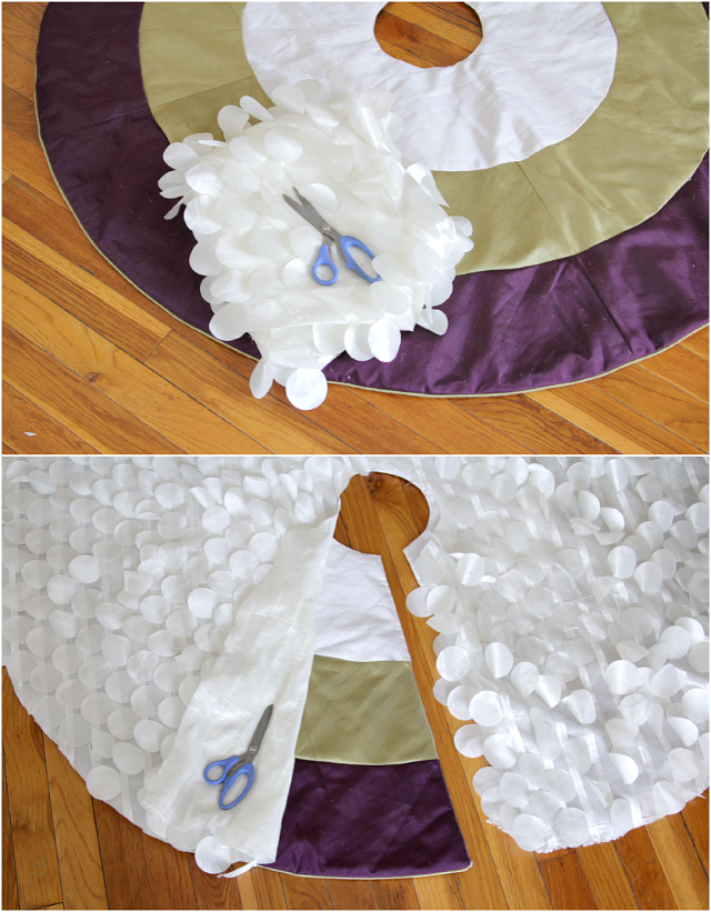 tree skirt makeover