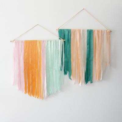 DIY Tissue Paper Banner