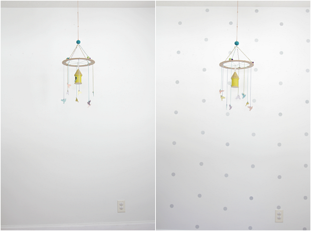 how to fix wall decals
