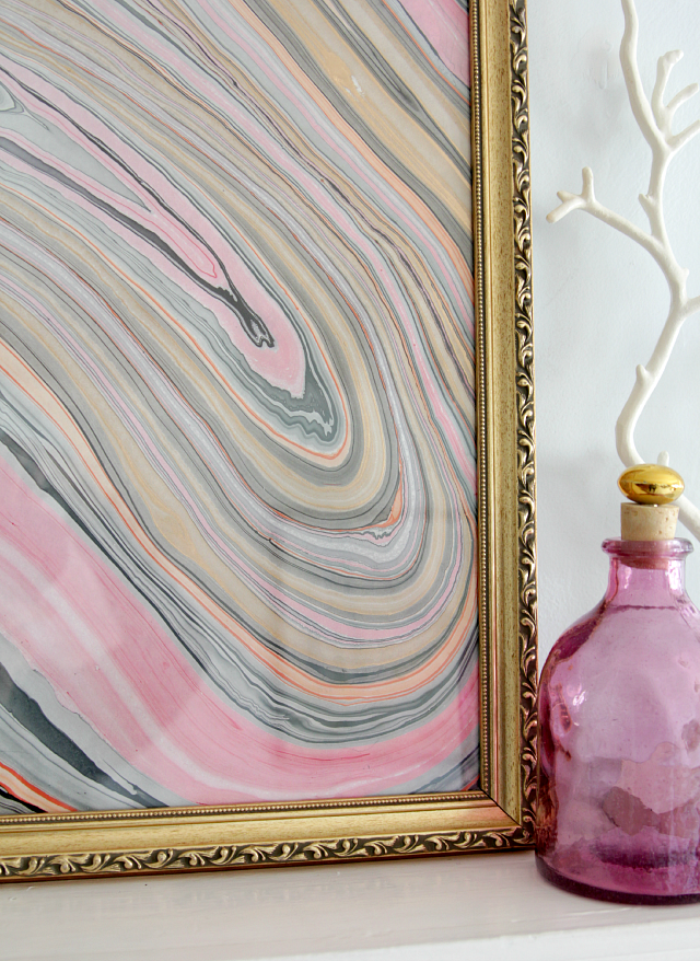 marbled paper art