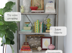 Bookshelf-styling-how-to