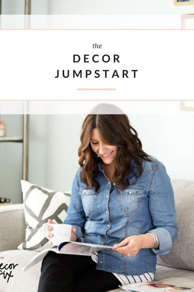 Decor Jumpstart by Heather Freeman