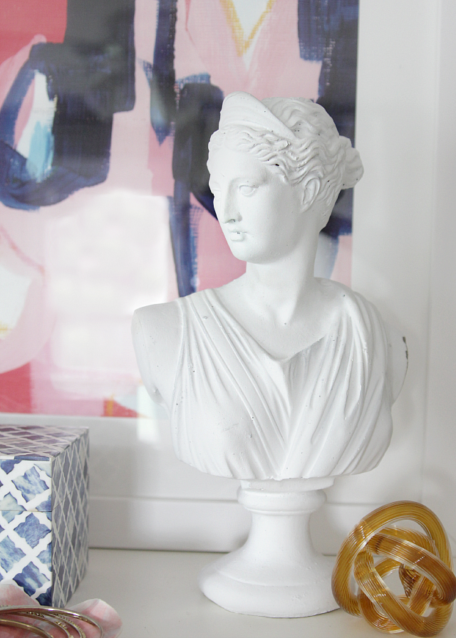 DF abstract art styling bust