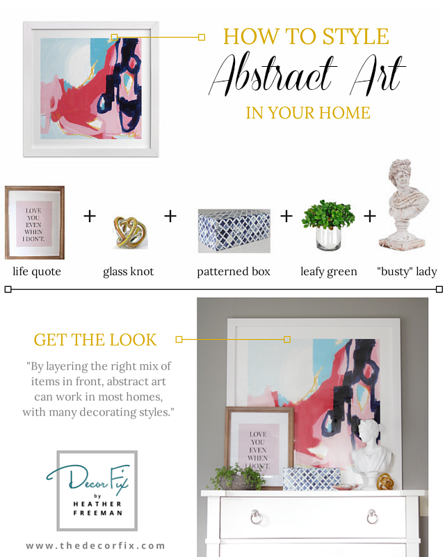 DF abstract art styling get the look