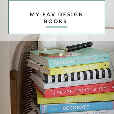 A Peak Inside My Favorite Design Books
