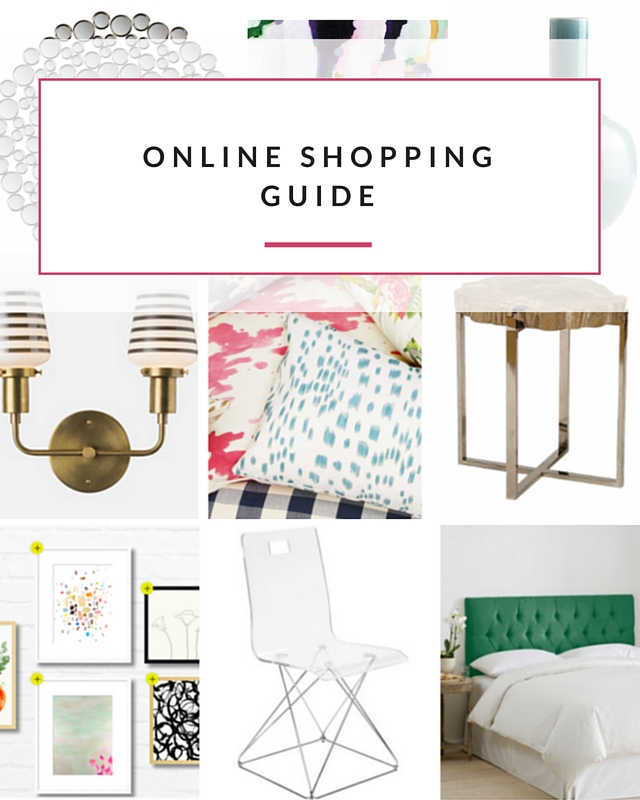 Online shopping guide for home decor Online home decor shopping