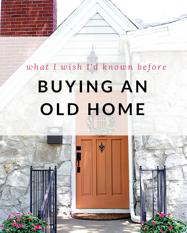 What I Wish I Had I Known Before Buying An Old Home