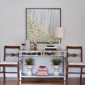 console table with chairs
