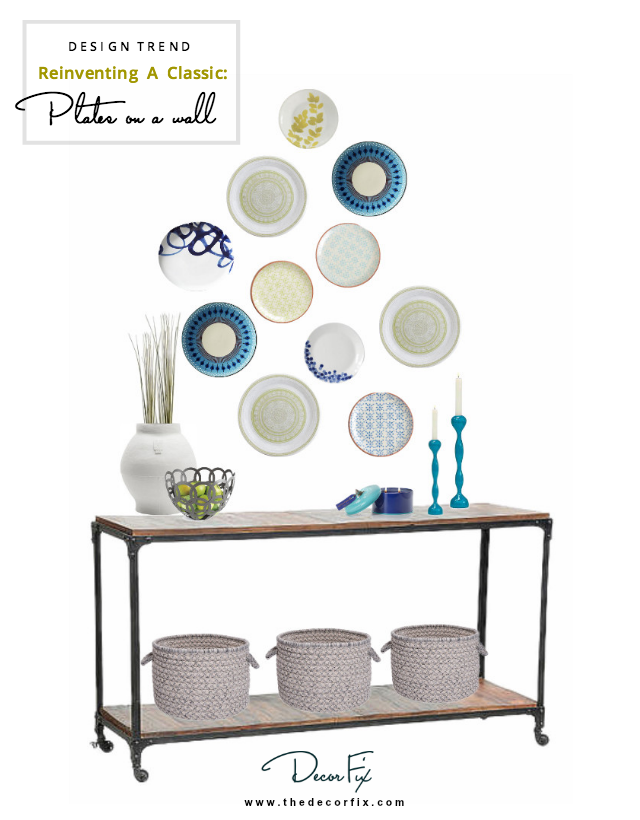 Design Trend: Plates on a wall