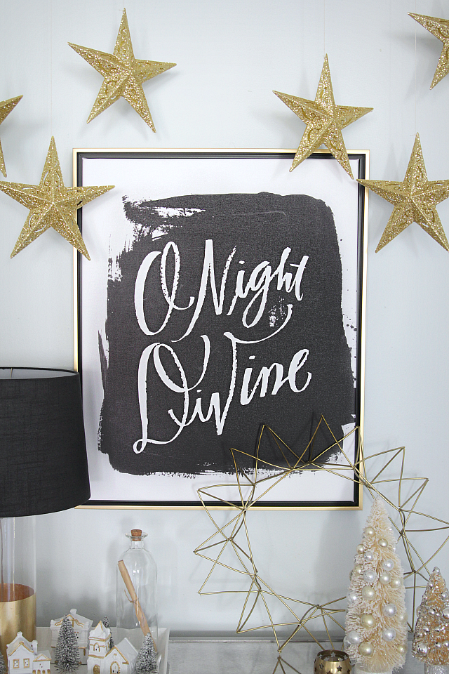 Black And Gold Christmas Decor