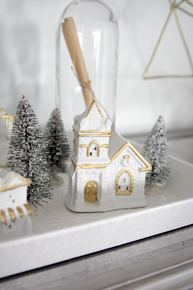 Console table Christmas decor |Decor Fix