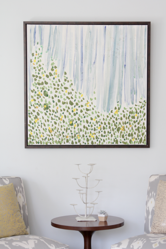 Large abstract art by Decor Fix
