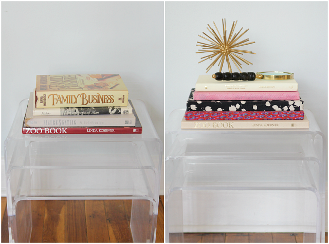 Fabric Covered Books | Decor Fix