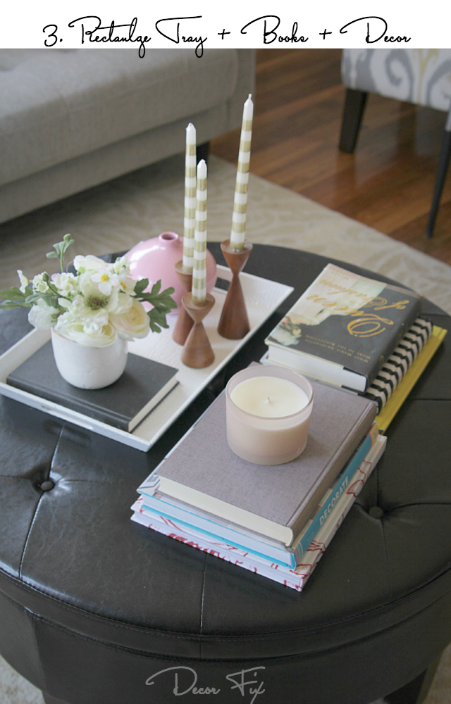 Inspirational How to Style a Coffee Table Decor Fix