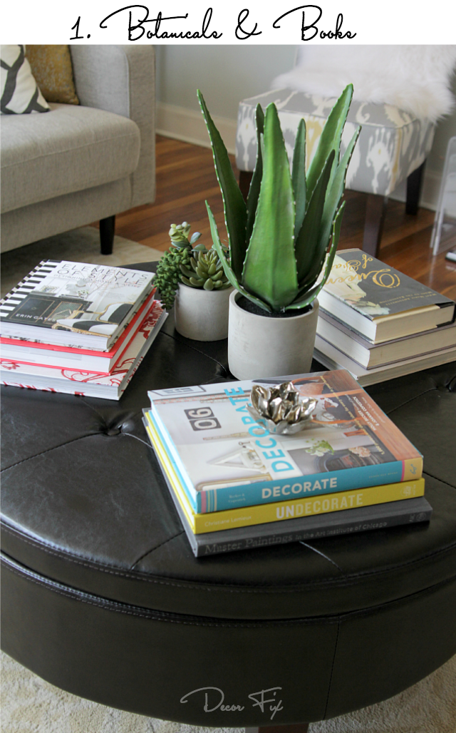 Good How to style a round coffee table Decor Fix