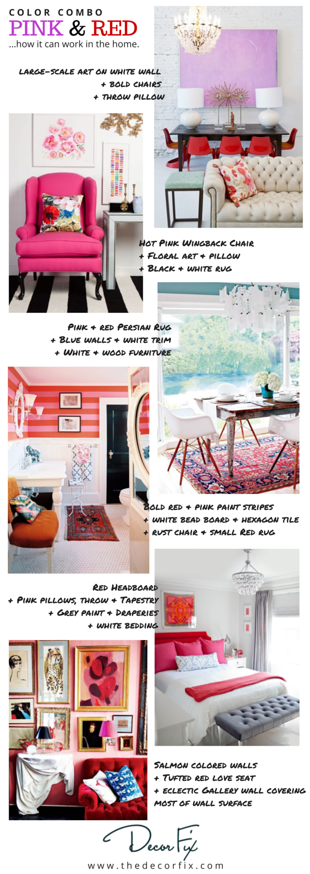 PINK & RED Interiors