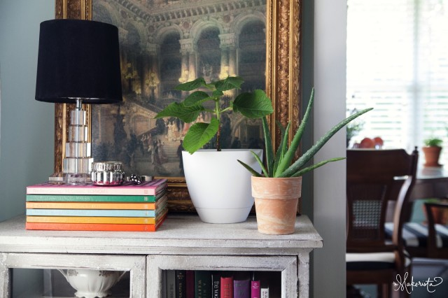 Layer plants to style a small space