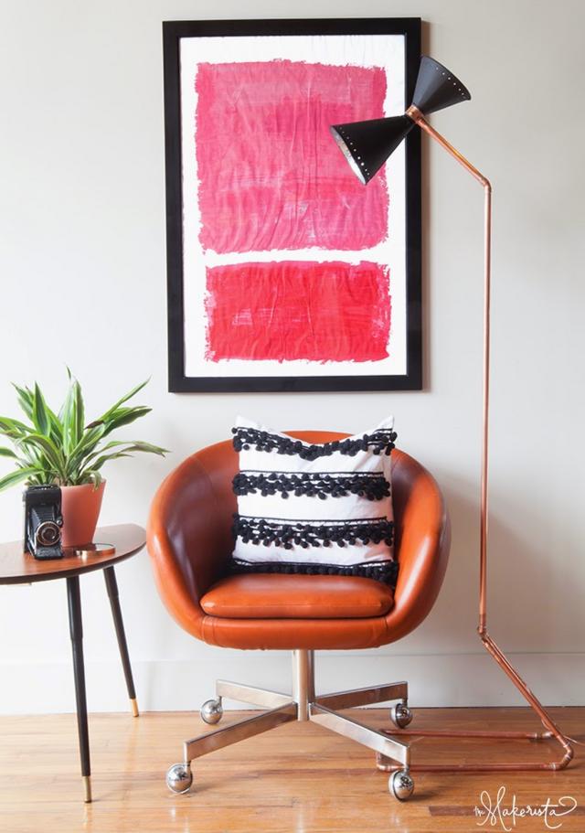 Pompom Pillow case DIY