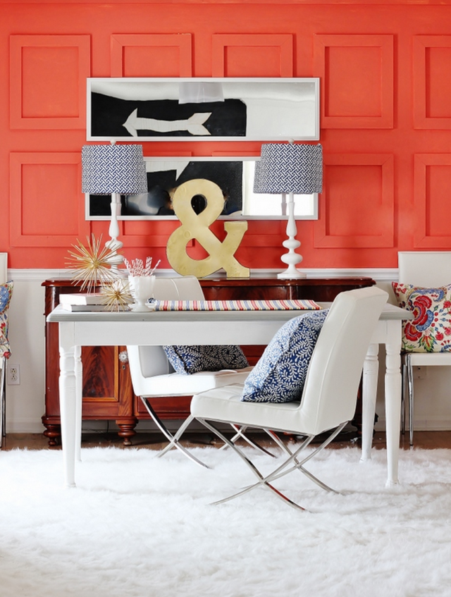 DIY Paneled Wall by Thistlewood Farms