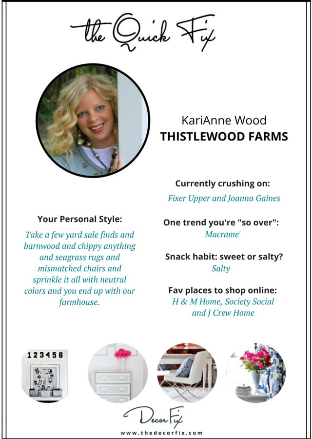 """Decor """"Quick Fix"""" with Thistlewood Farms"""
