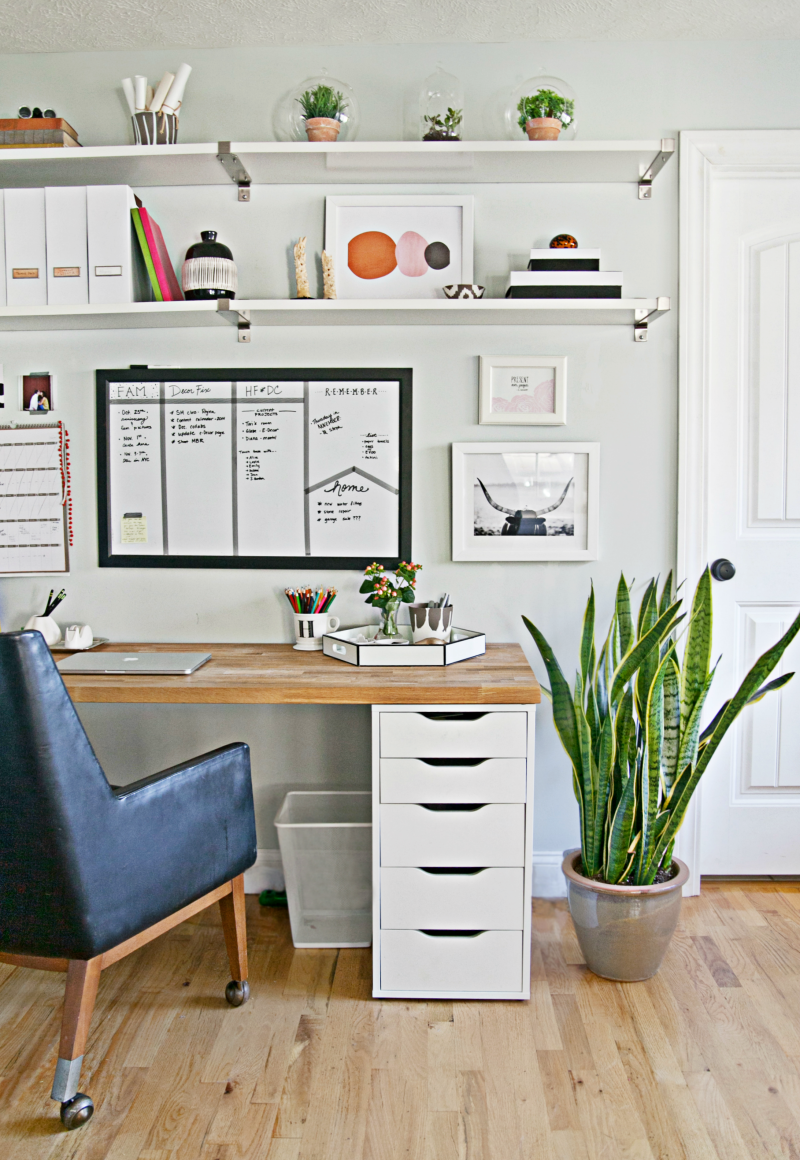 9 steps to a more organized office. Black Bedroom Furniture Sets. Home Design Ideas