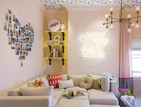 14 Gorgeous Rooms with Neon Lights
