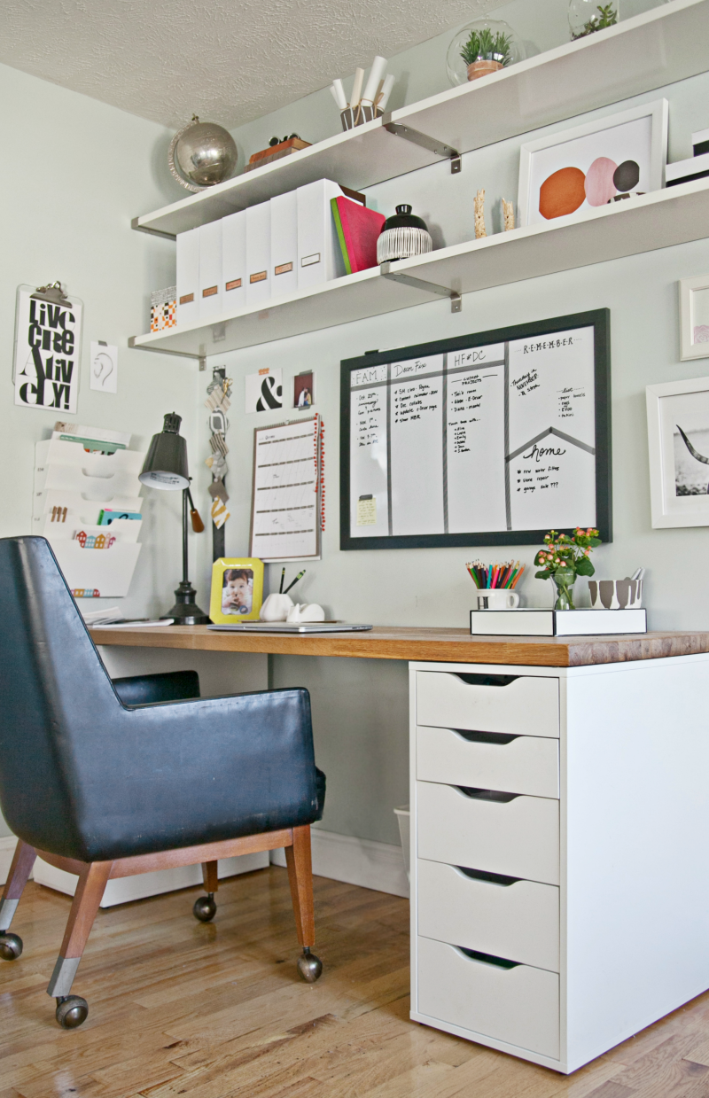 9 Steps to a More Organized Office | Decor Fix