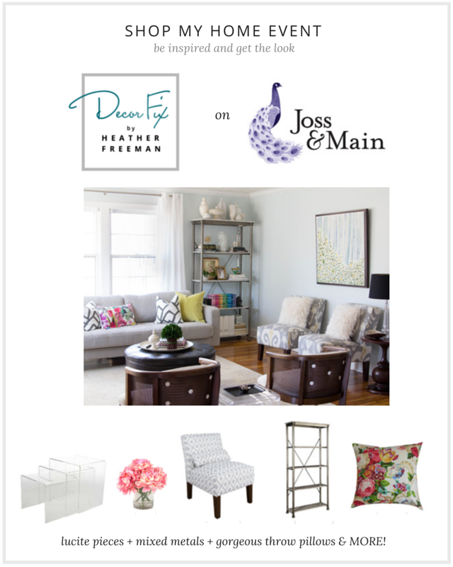Shop my home event with joss main decor fix for Joss and main contact